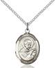 St. Robert Necklace Sterling Silver