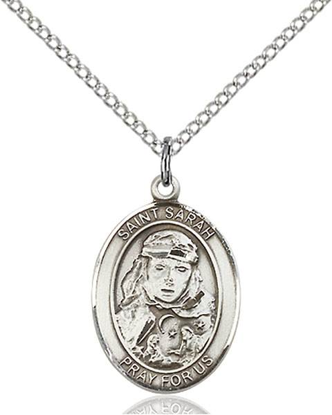 St. Sarah Necklace Sterling Silver