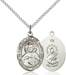 Scapular Necklace Sterling Silver