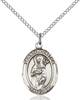 St. Scholastica Necklace Sterling Silver