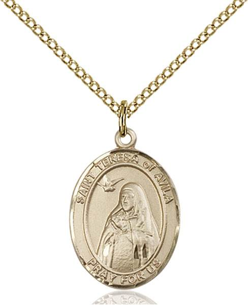 St. Teresa Necklace Sterling Silver