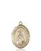 St. Teresa Necklace Solid Gold