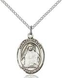 St. Edith Necklace Sterling Silver