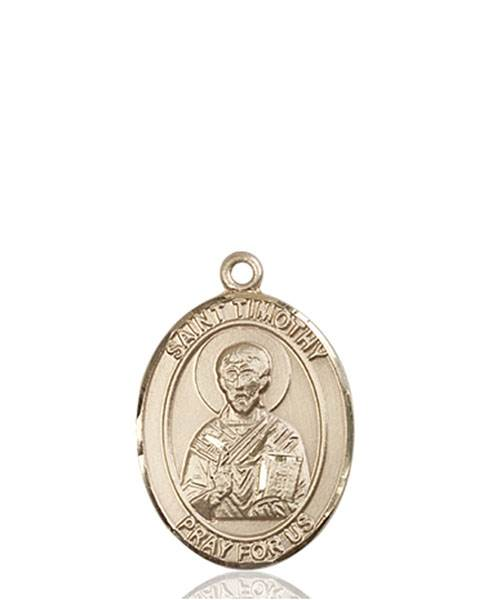 St. Timothy Necklace Solid Gold