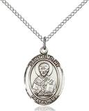 St. Timothy Necklace Sterling Silver
