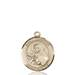 St. Theresa Necklace Solid Gold