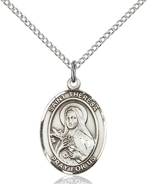 St. Theresa Necklace Sterling Silver
