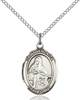 St. Veronica Pendant St. Veronica ,Photographers,Patron Saints,Patron Saints - V, sterling silver medals, gold filled medals, patron, saints, saint medal, saint pendant, saint necklace, 8110,7110,9110,7110SS,8110SS,9110SS,7110GF,8110GF,9110GF,