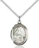 St. Veronica Necklace Sterling Silver