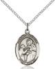 St. John of God Pendant St. John Of God ,Alcoholics and The Sick,Patron Saints,Patron Saints - J, sterling silver medals, gold filled medals, patron, saints, saint medal, saint pendant, saint necklace, 8112,7112,9112,7112SS,8112SS,9112SS,7112GF,8112GF,9112GF,