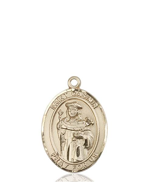 St. Casimir Necklace Solid Gold