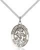 Angel De La Guardia Necklace Sterling Silver