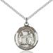 St. Valentine Necklace Sterling Silver