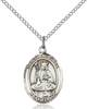 St. Walburga Necklace Sterling Silver