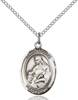 St. Agnes Necklace Sterling Silver