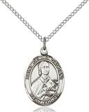 St. Gemma Necklace Sterling Silver
