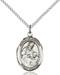 St. Ambrose Necklace Sterling Silver