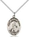 St. Christopher/Basketball Pendant