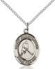 St. Christopher/Ice Hockey Pendant St. Christopher/Ice Hockey ,Travelers and Motorists,Patron Sports,Ice Hockey, sterling silver medals, gold filled medals, patron, saints, saint medal, saint pendant, saint necklace, 8155,7155,9155,7155SS,8155SS,9155SS,7155GF,8155GF,9155GF,