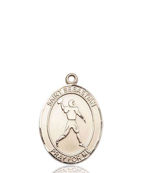 St. Sebastian Necklace Solid Gold