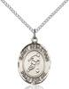 St. Sebastian/Soccer Pendant St. Sebastian/Soccer ,Athletes and Soldiers,Patron Sports,Soccer, sterling silver medals, gold filled medals, patron, saints, saint medal, saint pendant, saint necklace, 8164,7164,9164,7164SS,8164SS,9164SS,7164GF,8164GF,9164GF,
