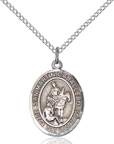 San Martin Necklace Sterling Silver