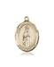 Our Lady of Fatima Necklace Solid Gold