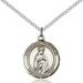 Our Lady of Fatima Necklace Sterling Silver