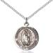 Virgen De Guadalupe Necklace Sterling Silver