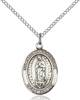 Our Lady of Guadalupe Necklace Sterling Silver