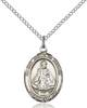 Infant of Prague Necklace Sterling Silver
