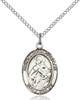St. Maria Goretti Necklace Sterling Silver