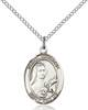 St. Therese Necklace Sterling Silver