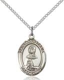 St. Anastasia Necklace Sterling Silver