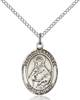 St. Alexandra Necklace Sterling Silver