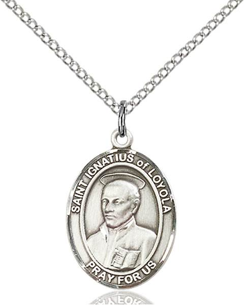 St. Ignatius Necklace Sterling Silver