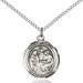 Holy Family Necklace Sterling Silver