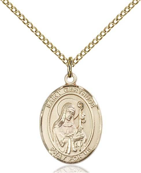 St. Gertrude Necklace Sterling Silver