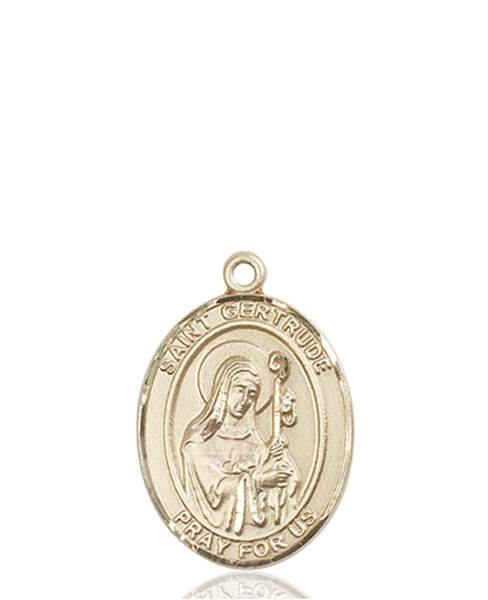 St. Gertrude Necklace Solid Gold