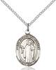 St. Joseph The Worker Pendant St. Joseph The Worker ,Workers,Patron Saints,Patron Saints - J, sterling silver medals, gold filled medals, patron, saints, saint medal, saint pendant, saint necklace, 8220,7220,9220,7220SS,8220SS,9220SS,7220GF,8220GF,9220GF,