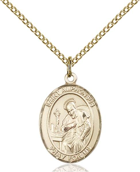 St. Alphonsus Necklace Sterling Silver