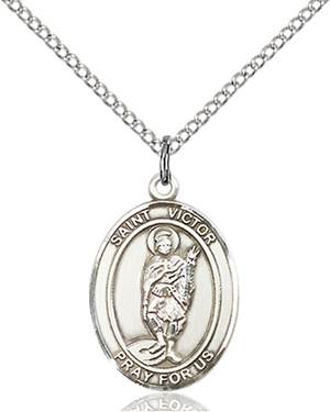 St. Victor Necklace Sterling Silver
