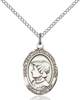 St. Elizabeth Ann Seton Pendant St. Elizabeth Ann Seton ,Loss of Parent or Child,Patron Saints,Patron Saints - E, sterling silver medals, gold filled medals, patron, saints, saint medal, saint pendant, saint necklace, 8224,7224,9224,7224SS,8224SS,9224SS,7224GF,8224GF,9224GF,