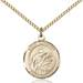 St. Aloysius Necklace Stolid Gold