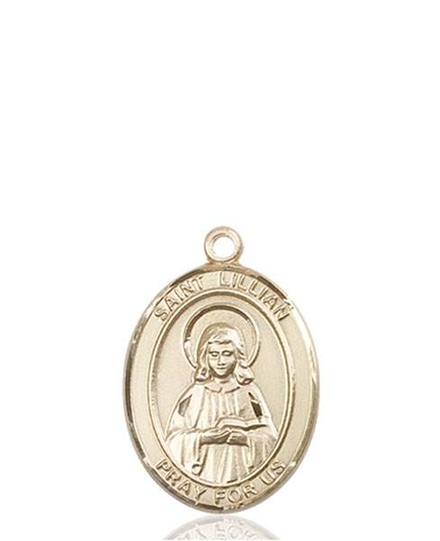 St. Lillian Necklace Solid Gold