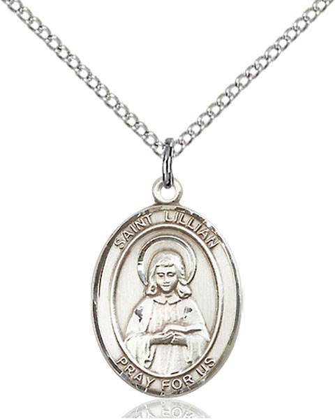 St. Lillian Necklace Sterling Silver