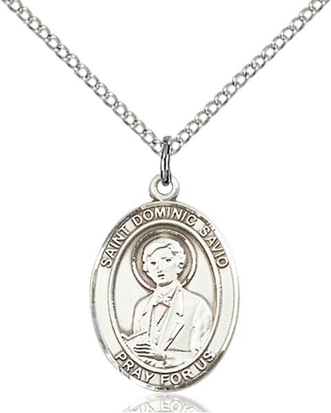 St. Dominic Necklace Sterling Silver