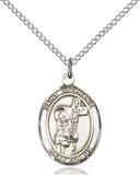 St. Stephanie Necklace Sterling Silver