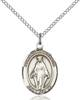 Our Lady of Lebanon Necklace Sterling Silver