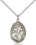 St. Bernard Necklace Sterling Silver